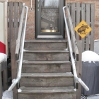 Retrofit ADA Accessiblity - Outfitting Wooden Decks with Metal Handrail