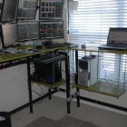 Multi-Monitor, Multi-Terminal Standing Desk Workstation