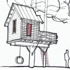 Sky Barn Gets Started - Sponsored Tree house Contest Entry