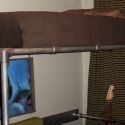 Loft Bed Made with Pipe and Pipe Fittings