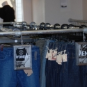 Kee Klamp Clothing Rack in Denim Store