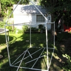 Kids Playhouse Made with PVC Pipe and Fittings