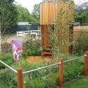 "Kee Klamp Structure Used in Award Winning ""Teenage Garden Sanctuary"""