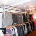 Kee Klamp Clothing Racks in UK Surf Shop