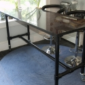 Granite Top Floating Kitchen Island