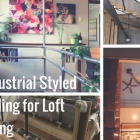 Industrial Styled  Railing for Loft Living