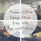 Modern Office Design Made Easy with Pipe and Fittings