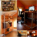 Pipe Furniture Inspiration - Desks, Bookshelves, and More