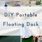 DIY Portable Floating Dock