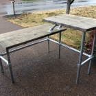 Split-Level Sit-Stand Desk