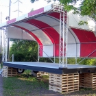 Festival Stage Canopy Structure