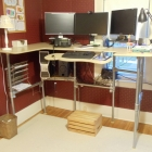 Upcycle a Sitting Desk into a Standing Desk