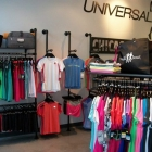 Retail Clothing Racks at Universal Sole