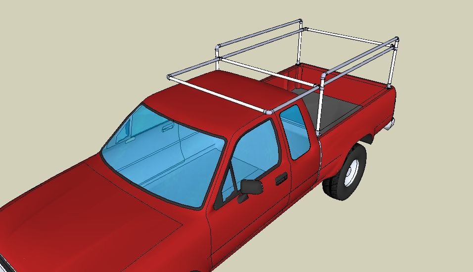 Truck Rack SketchUp File