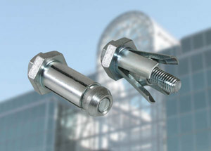BoxBolt™ is an expansion anchor that can be used to make connections to structural sections.