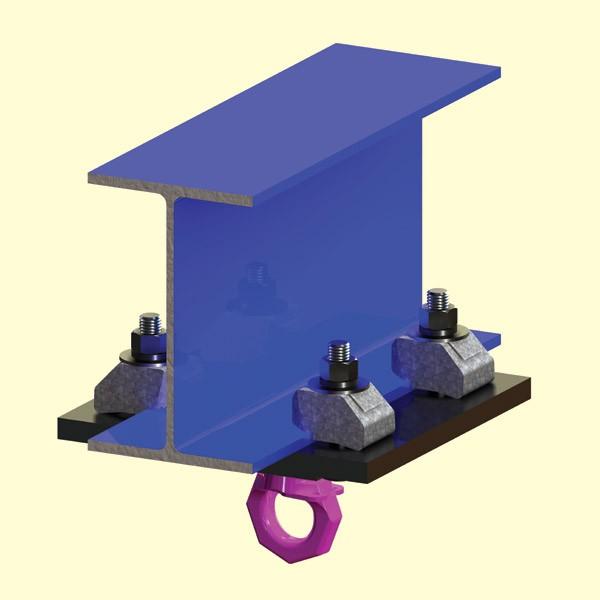 Adjustable Beam Rigging Clamp