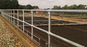 1/2 Mile of Water Treatment Railing