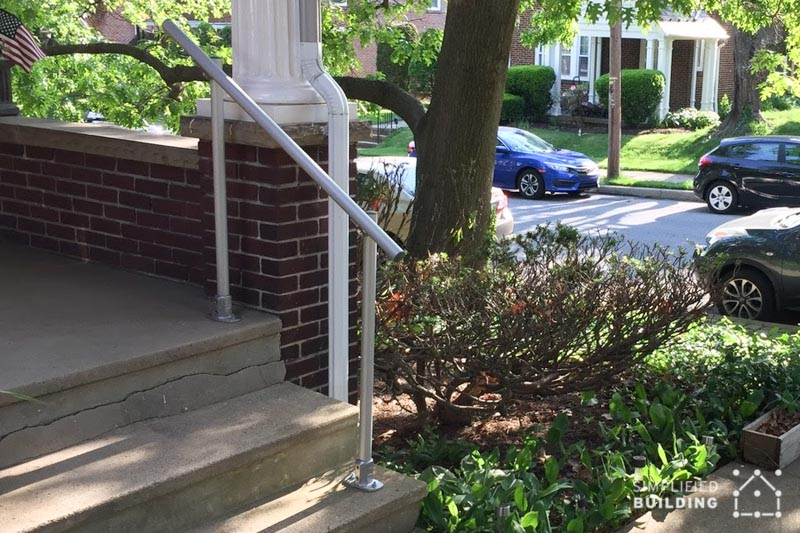 Front Porch Handrail