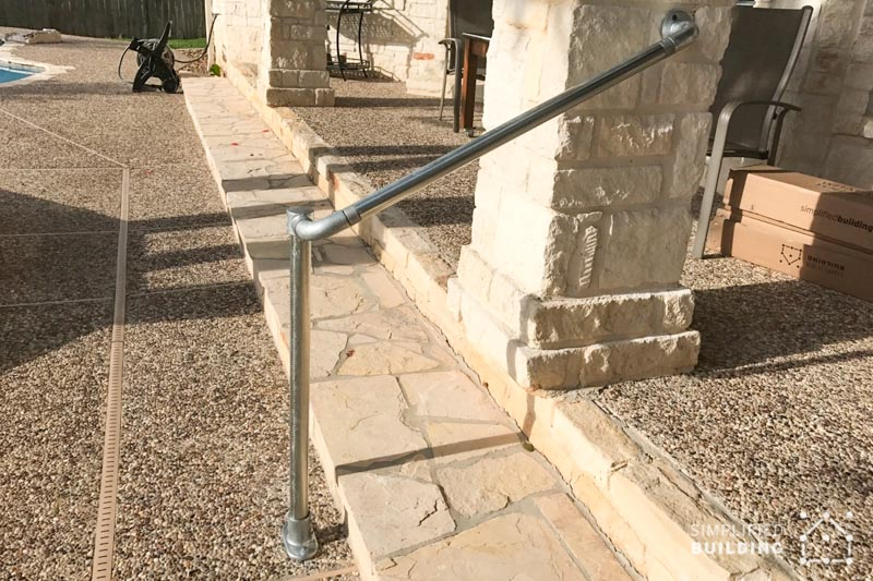 Handrail for Pool Steps
