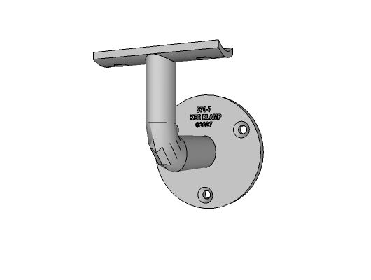 570-7 - Wall Mounted Handrail Bracket 1-1/4