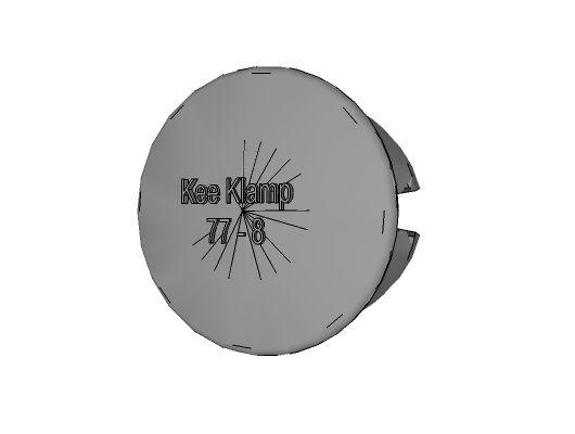 77-7 - Plastic Plug, 1-1/4