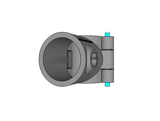 A10 - Split Single Socket Tee