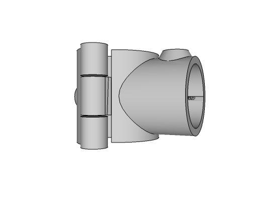 A10-748 - Add-On Single Handrail Socket 1-1/4