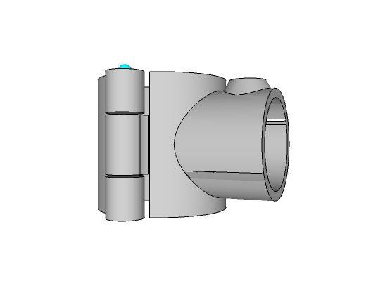 A10-848 - Add-On Single Handrail Socket 1-1/2