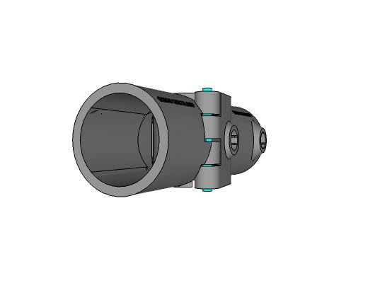 A21/A26 - Split Two Socket Cross/90° Side Outlet Tee