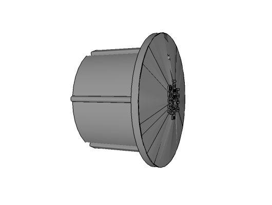 L84-7 - Malleable Plug, 1-1/4