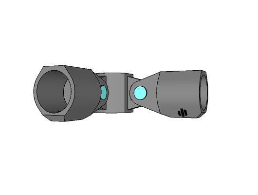LC52 - Angle articulable à2 entrées