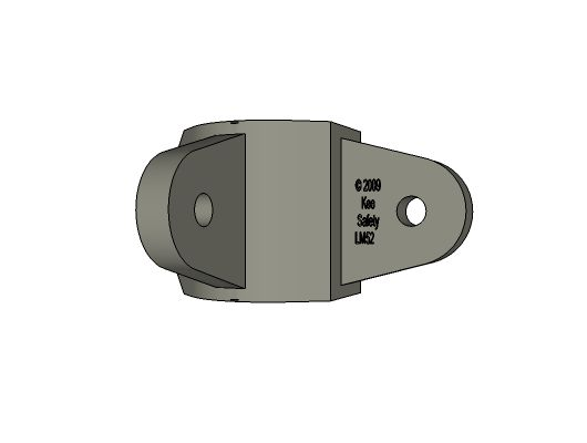 M52-8 - Male Corner Swivel Socket Member, 1-1/2