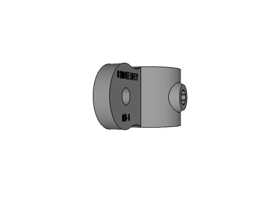 M50-7 - Male Single Swivel Socket Member, 1-1/4