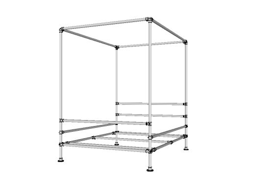 Very Best PVC Pipe Canopy Bed 530 x 400 · 11 kB · jpeg  sc 1 st  Interior Decorating and Home Design Ideas & Metal Canopy Bed Frames - Interior Decorating and Home Design Ideas
