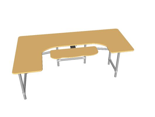 Ergonomic Desk Sketchup File
