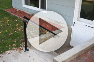 Surface L160 - Stair Handrail Install Video